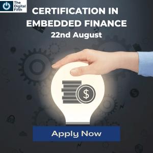 Certification in Embedded Finance